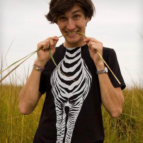 Prosty sposób na zrobienie koszulki-zebry