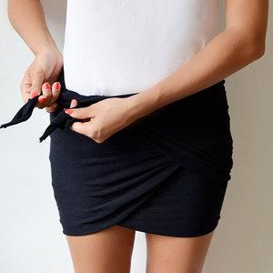 Jak zrobić spódnicę z chusty?