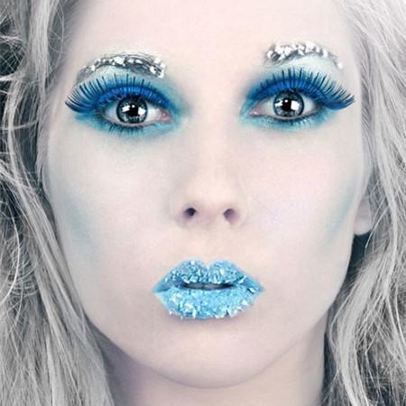 Jaki makijaż będzie pasować do urody typu zima?