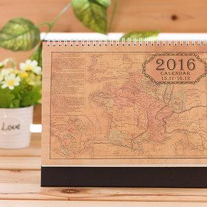 Jak wykonać kalendarz retro?