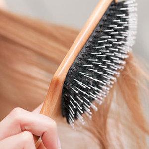 Przed myciem włosów
