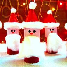 Jak wykonać świętego Mikołaja z patyczka do lodów?