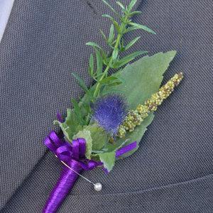 Jak zrobić ładną butonierkę z liści?