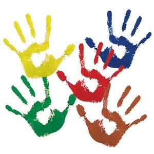 Farba do malowania palcami – krok piąty