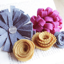 Jak wykonać ładne kwiaty z filcu?