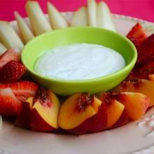 Jak przyrządzić dip do owoców?