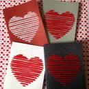 Jak przygotować kartkę z dwoma sercami?