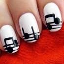 Łatwy sposób wykonania nutek na paznokciach