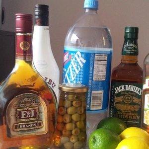 Różnorodny alkohol