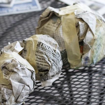 Jak przygotować masę papierową?