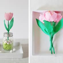 Jak zrobić efektowne tulipany z papieru?