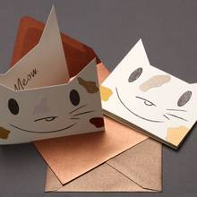 Jak zrobić kartkę urodzinową w kształcie kota?
