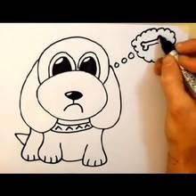 Rysowanie psa krok po kroku