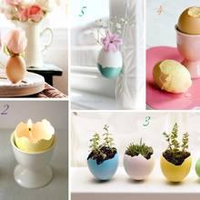 Prosty sposób zrobienia wazonika z jajka