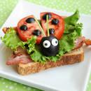 Jak zrobić ciekawą kanapkę-biedronkę?