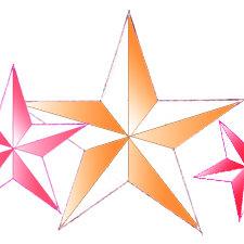 Jak w prosty sposób narysować gwiazdę pięcioramienną?