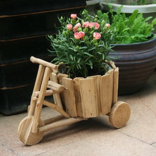 Jak wykonać donicę z drewna?