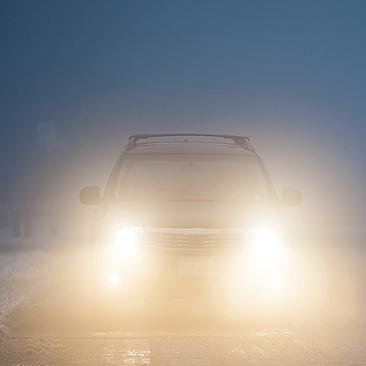 Jak używać świateł podczas mgły?
