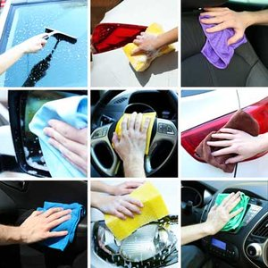 Ręczne mycie auta – krok piąty