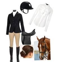 Jak wygląda strój do jazdy konnej?