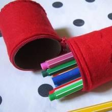 Jak zrobić ciekawy piórnik z rolki papieru?