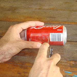 Jak zrobić palnik z puszki – krok trzeci