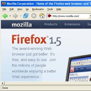 W Mozilla Firefox