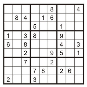 Na czym polega sudoku?