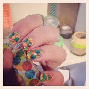 Jak dekorować paznokcie taśmą washi?