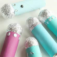 Jak zrobić zabawny mikrofon z rolki po papierze toaletowym?