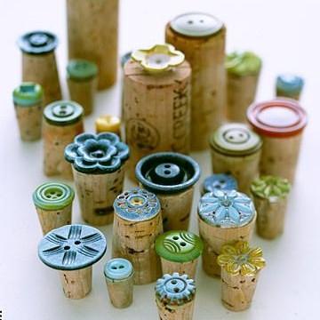 Jak wykorzystać korki po winie do zrobienia stempli?