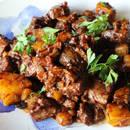 Jak przygotować wołowinę z dynią na obiad?
