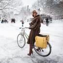 Jak bezpiecznie jeździć zimą na rowerze?