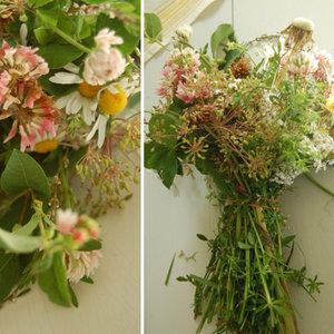 Bukiet z polnych kwiatów – krok drugi