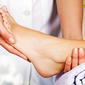 Masaż stóp – krok trzeci