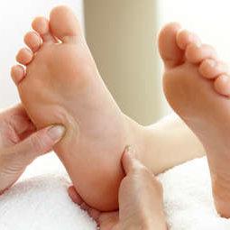 Masaż stóp – krok dziewiąty