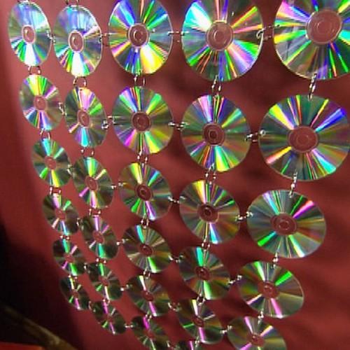 Что сделать из дисков фото