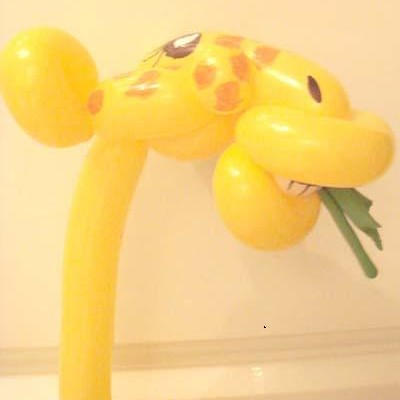 Jak przerobić balon na żyrafę?