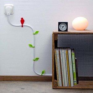Kable pnące się po ścianie